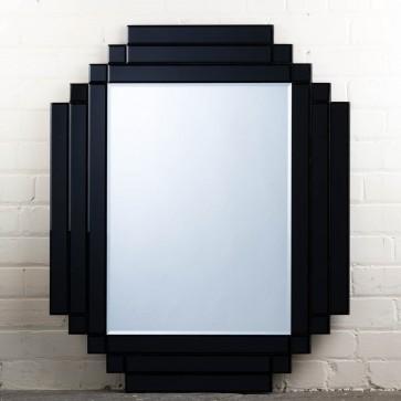 Gatsby Range Black Square Mirror