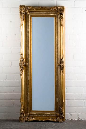 Georgian Range Gold Mirror
