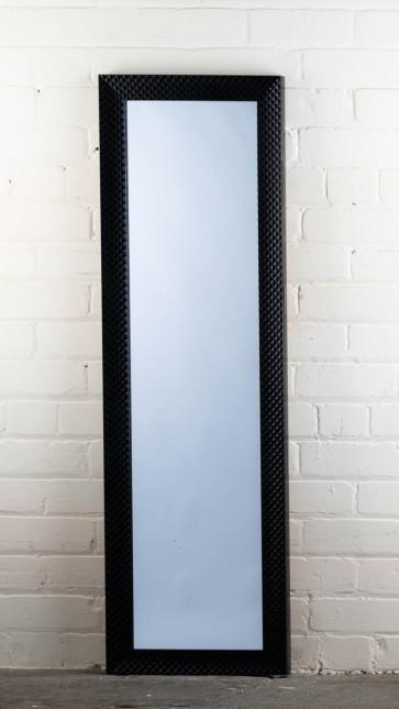 Poly Range Black Diamond Full Length Mirror