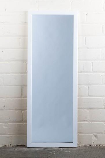 Poly Range White Full Length Mirror