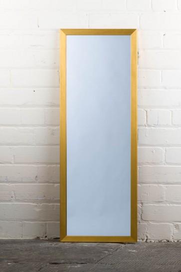 Poly Range Gold Full Length Mirror