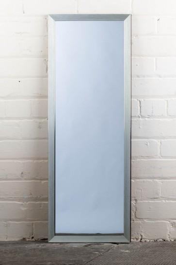 Poly Range Silver Full Length Mirror