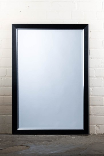 Poly Range Black and Silver Mirror