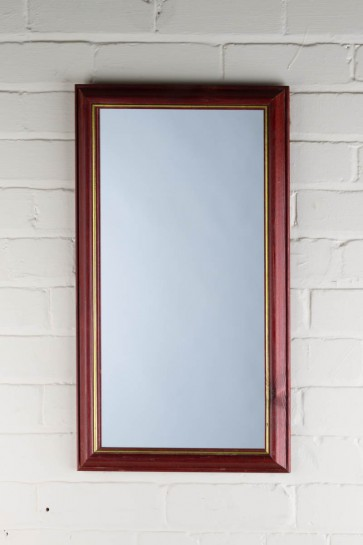 Traditional Wood Frame Mirror