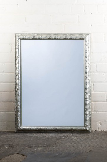Traditional Range Silver Mirror