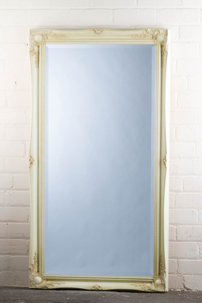 This Great Value Wide Full Length Tudor Ornate Mirror In