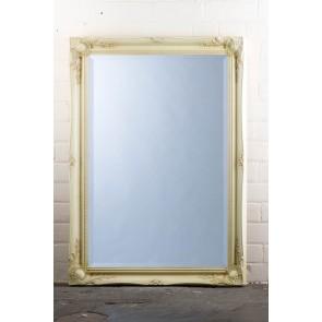 Regular  Tudor Ornate Mirror in Cream