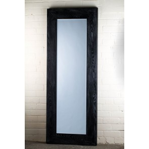 Barn Wood Range Black Full Length Mirror