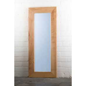 Barn Wood Range Oak Full Length Mirror