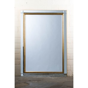Classic Contemporary Ornate Gold  Mirror