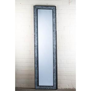 Cosmopolitan Black Mosaic Cheval Mirror