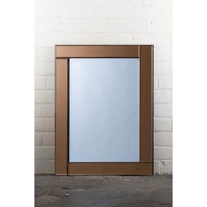 Deluxe Frameless Bronze Mirror