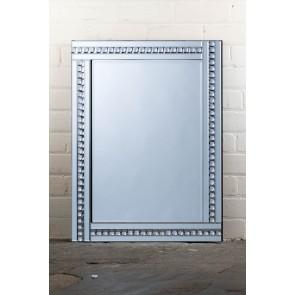 Deluxe Frameless Clear Crystal Mirror