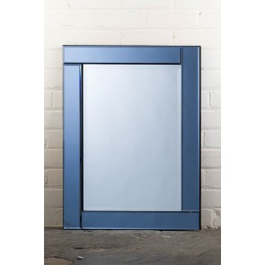 Deluxe Frameless Smokey Mirror