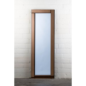 Deluxe Frameless Bronze Full Length Mirror