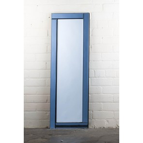 Deluxe Frameless Smokey Full Length Mirror