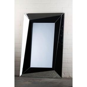 Feature Range Black Block Mirror
