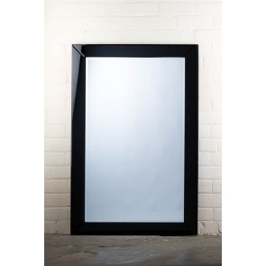 Frameless Black Edge Mirror