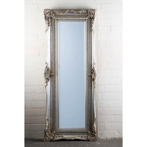 Georgian Range Silver Full Length Mirror