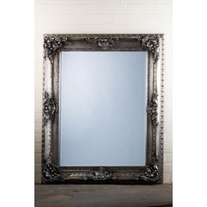Georgian Range Ornate Grey Mirror