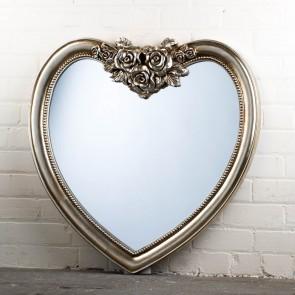 Heart Range Grey Mirror
