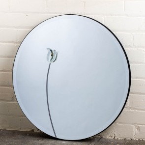 Lead Art Range Flower Mirror