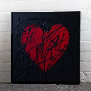 Liquid Art Range Heart Mirror