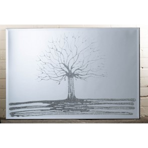 Liquid Art Range Tree Mirror