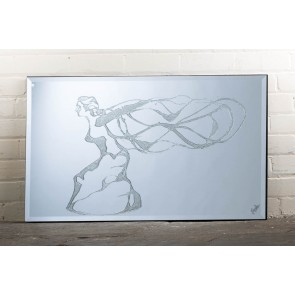Liquid Art Range Woman Mirror