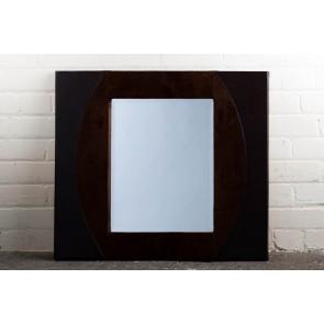 Leather Range Brown Mirror