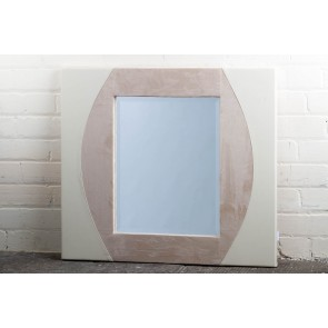 Leather Range Cream Mirror