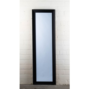 Poly Range Black Diamond Full Length Mirror