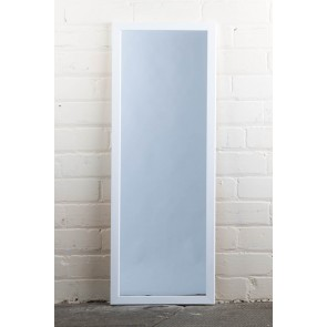 Poly Range White Full Length Mirror