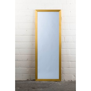 Poly Range Gold Full Length Mirror